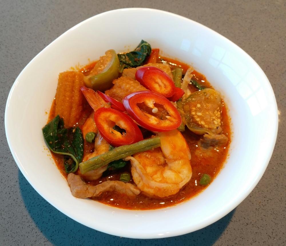 Thai Jungle Curry (Gaeng Bpa Curry)
