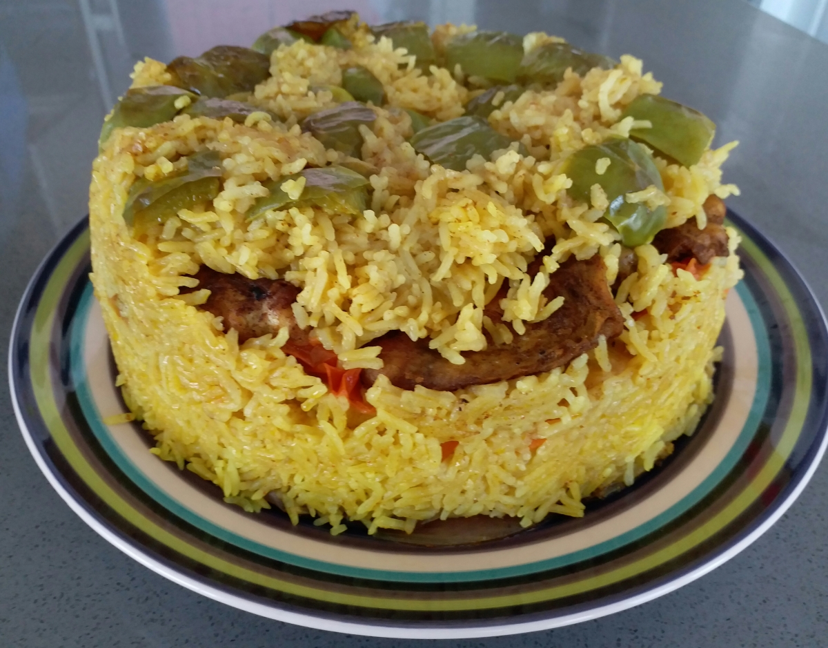 Chicken maqlooba or upside down chicken rice eating out at home forumfinder Choice Image