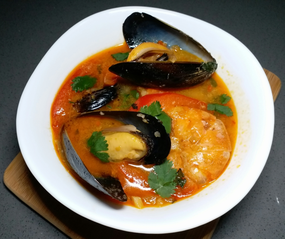 Thai Coconut Seafood Curry