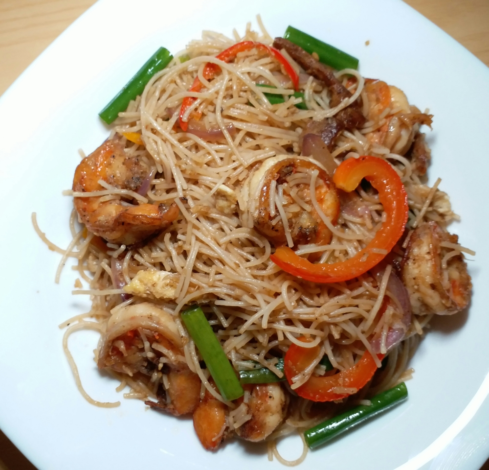 Singapore Fried Bee Hoon